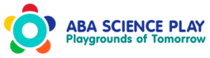 ABA Science Play, logo, outdoor play equipment